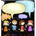 beszélgetés tanulás